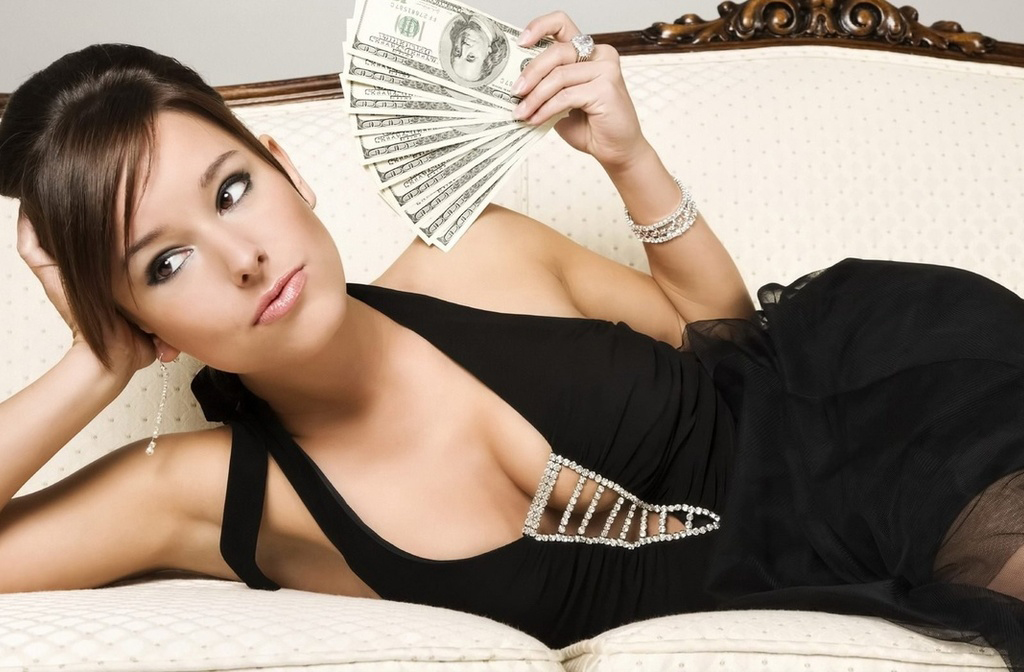 девушкам нужны только деньги