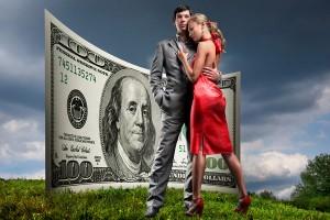 всем женщинам нужны только деньги